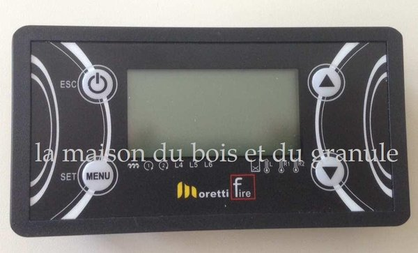 DISPLAY LCD 4 TOUCHES CANALISE