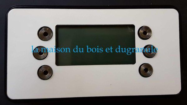 DISPLAY LCD 6 TOUCHES HYDRO SUR COMMANDE